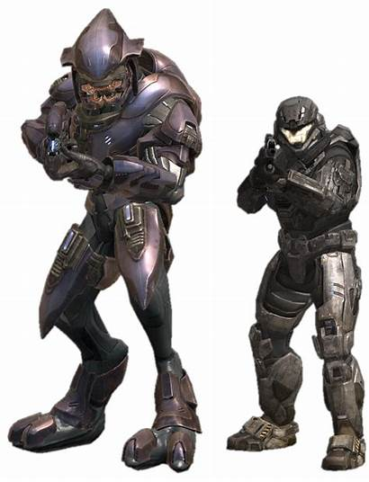 Reach Halo Elite Elites Spartan Comparison Armor
