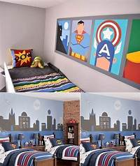 little boy room ideas Wall Mural Inspiration & Ideas for Little Boys' Rooms