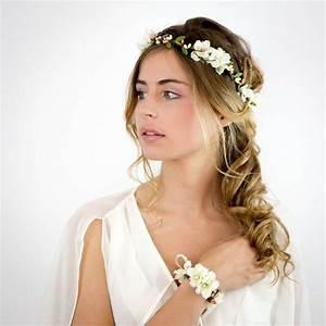 Couronne De Fleurs Mariée : 18 coiffures pour un mariage champ tre secrets de beaut s ~ Farleysfitness.com Idées de Décoration