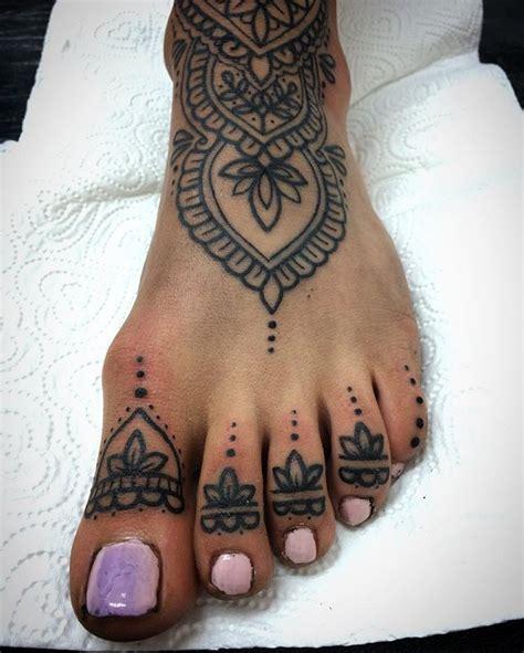 foot tattoos ideas  pinterest lotus tattoo