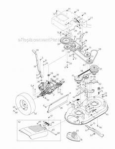 Troy-bilt Tbwc33xp Parts List And Diagram