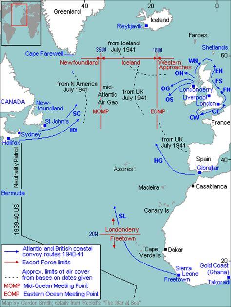 Boats Net Shipping To Canada by U Boat Warfare 1940 1941