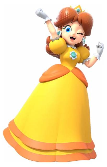 Daisy Princess Mario Super Party Artwork Gaming