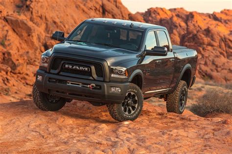 ram power wagon  drive review big heavy