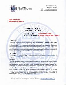 Documentation renewal scam please read the hull truth for National vessel documentation center renewal