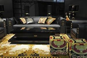 Inspirations & Ideas Living Room Trends: Versace Home