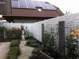 Betonpfosten Für Zaun : zaun und tor referenzen von zaunteam betonzaun 5745 safenwil zaunteam ~ Markanthonyermac.com Haus und Dekorationen