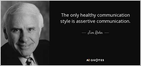 jim rohn quote   healthy communication style