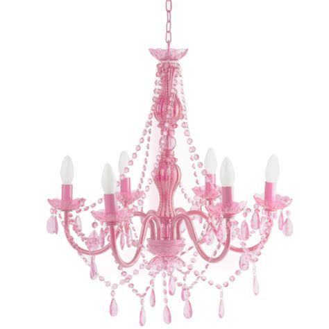 plafonnier chambre b b fille flamingo pink chandelier
