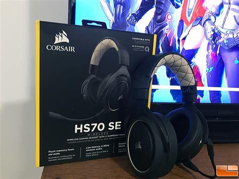 Corsair HS70 Wireless Headset Review - Legit Reviews
