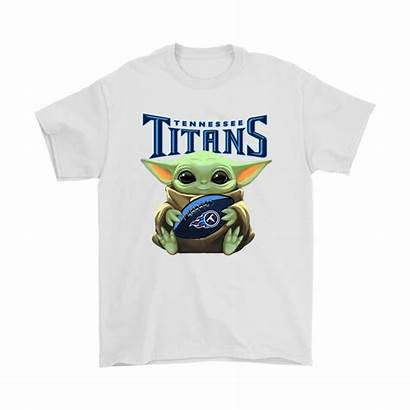Titans Yoda Tennessee Nfl Shirts Loves Wars