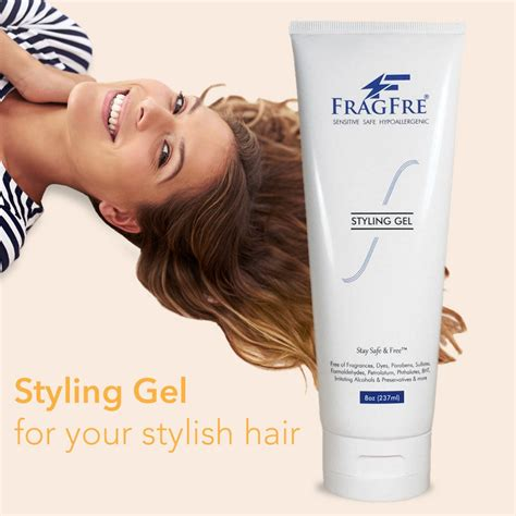 styling hair fragrance free hypoallergenic sulfate free styling gel for 1359