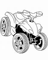 Coloring Quad Printable Road Pages Sheet Topcoloringpages Vehicle Motorcycle sketch template