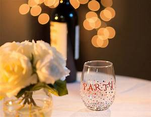 Corporate Cover Letters Decorate Your Own Stemless Wine Glass With Testors Craft Paint