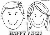 Coloring Face Drawing Little Faces Clipart Boy Cartoon Printable Happy Sheets Getdrawings Girlsgogames Draw Clip Popular sketch template