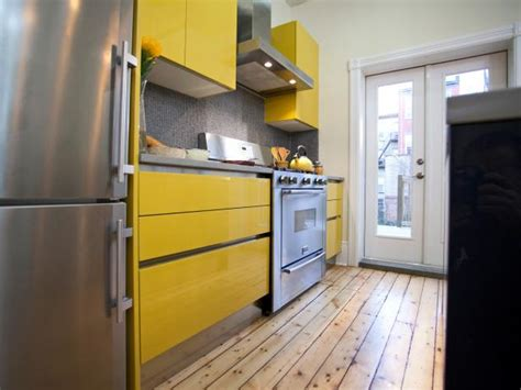 yellow kitchen cabinets pictures ideas tips  hgtv