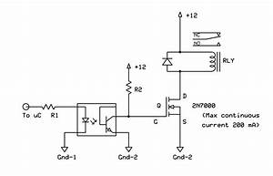 12 Volts Relay Control Circuit Transistor Issue