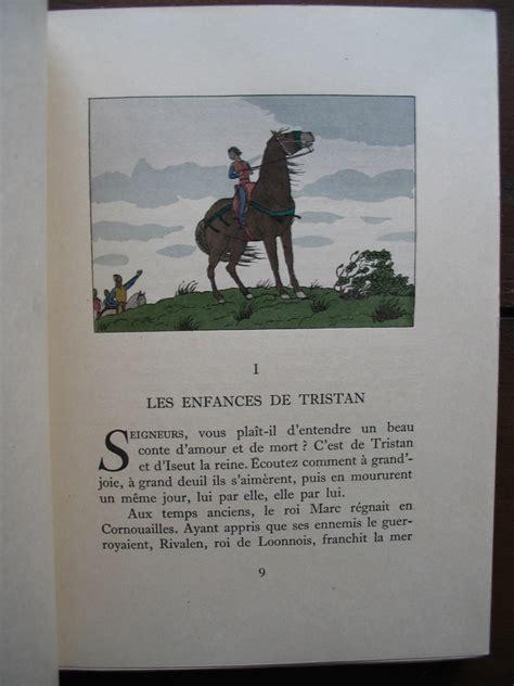 Tristan Et Iseut Resume Chaque Chapitre by B 201 Dier Joseph Trad Marty A E Le De Tristan Et Iseut Piazza 1947 Broch 233