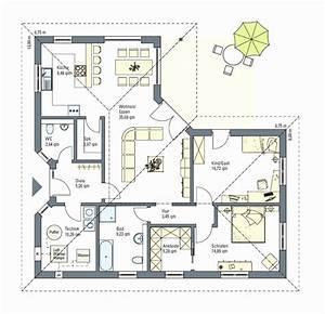 Bungalow Grundriss 130 Qm : bungalow grundriss 130 qm inspirierend bungalow bauen grundriss einfacher grundriss kern haus ~ Orissabook.com Haus und Dekorationen