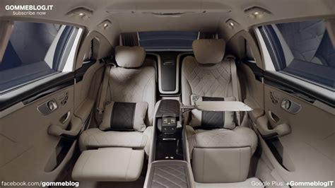 New mercedes maybach s650 pullman + stock. Mercedes Maybach S600 Pullman INTERIOR DESIGN - YouTube