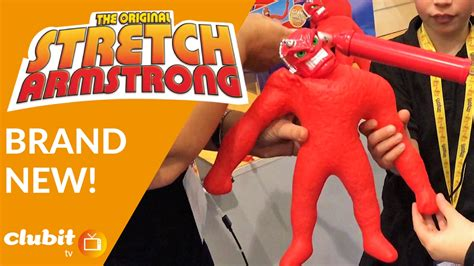 Brand New Stretch Armstrong Collection Youtube