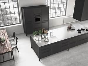 Meuble De Cuisine Noir : choisissez des meubles noirs pour la cuisine ~ Teatrodelosmanantiales.com Idées de Décoration
