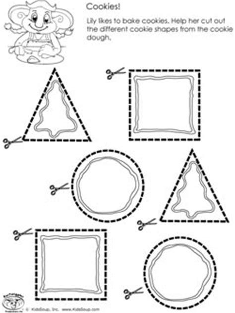 preschool scissor skills activities and worksheets kidssoup 154 | scissors skills worksheet cookies