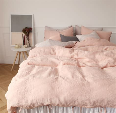 light pink sheets queen in search of the perfect blush pink bedding set kimi who
