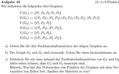 graphentheorie erklaerung nachbarschaftsmatrix mathelounge