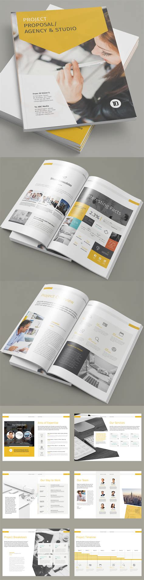 Project Brochure Template by 17 New Creative Brochure Catalog Templates Design