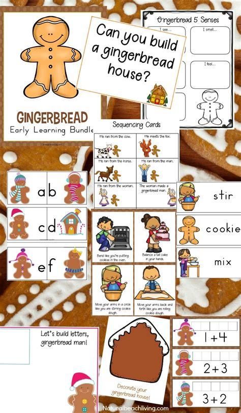 kindergarten  preschool gingerbread theme