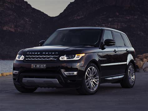 luxury black range rover обзор модели range rover sport