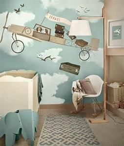 Babyzimmer Tapete Mädchen : 120 super originelle ideen f rs jungenzimmer ~ Frokenaadalensverden.com Haus und Dekorationen