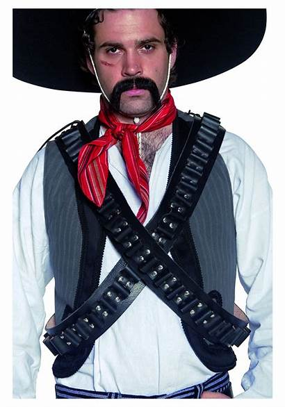 Bandolier Belt Western Bandit Mexican Bullet Outlaw