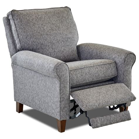 High Leg Recliner by Klaussner Township 82708 Phlrc Casual Power Motion High
