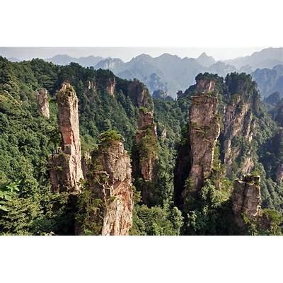 Zhangjiajie National Forest Park ChinaThe Great Asia
