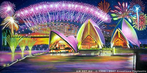 Backdrop Australia by Sydney Harbour Fireworks Backdrops Fantastic Australia