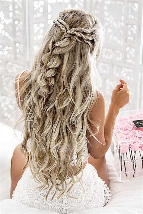 hair styles for thick hair best 25 prom hair ideas on prom 4629