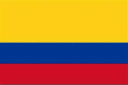 Kolumbien Flagge Anmalen