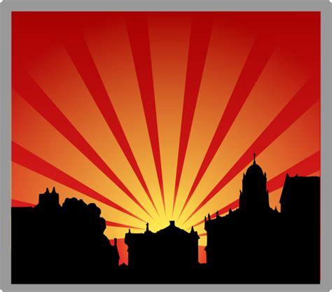 Sunset Clip Art At Vector Clip Art Online