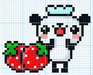 Pixel Art Minecraft Templates Cute | www.pixshark.com ...