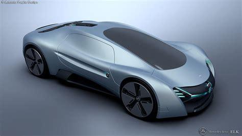 elk electric concept car  design proposal  mercedes
