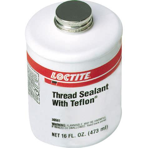 teflon kleben loctite loctite 1527514 white thread sealant with ptfe 1 pt brushtop can 1527514 loc1527514 gas and
