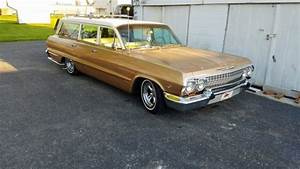 1963 Chevrolet Lowered Biscayne Wagon Hot Rod Patina Bel
