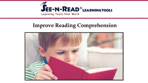 Improve Reading Comprehension Authorstream