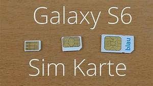 Galaxy S6 Induktives Laden Probleme : welche sim karte braucht das samsung galaxy s6 youtube ~ Pilothousefishingboats.com Haus und Dekorationen