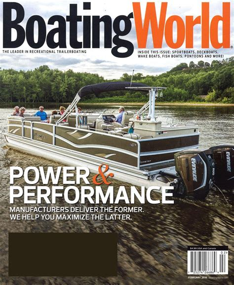 Boating Magazine by Boating World Magazine Subscriptions Renewals Gifts