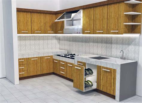 Gambar Model Kitchen Set Dapur Kecil