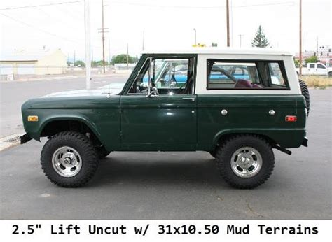 Ford Bronco Lift Kit by 2 5 Quot Suspension Lift Kit System Stage 4 66 77 Ford