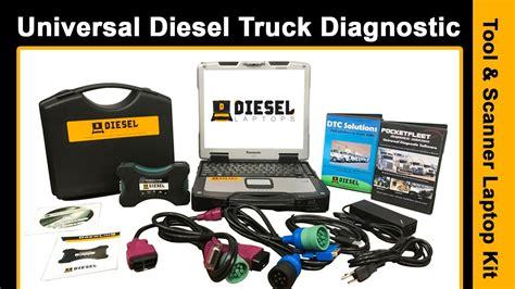 Universal Diesel Truck Diagnostic Tool & Scanner Laptop